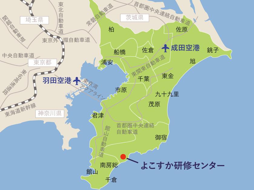 ロケーション地図